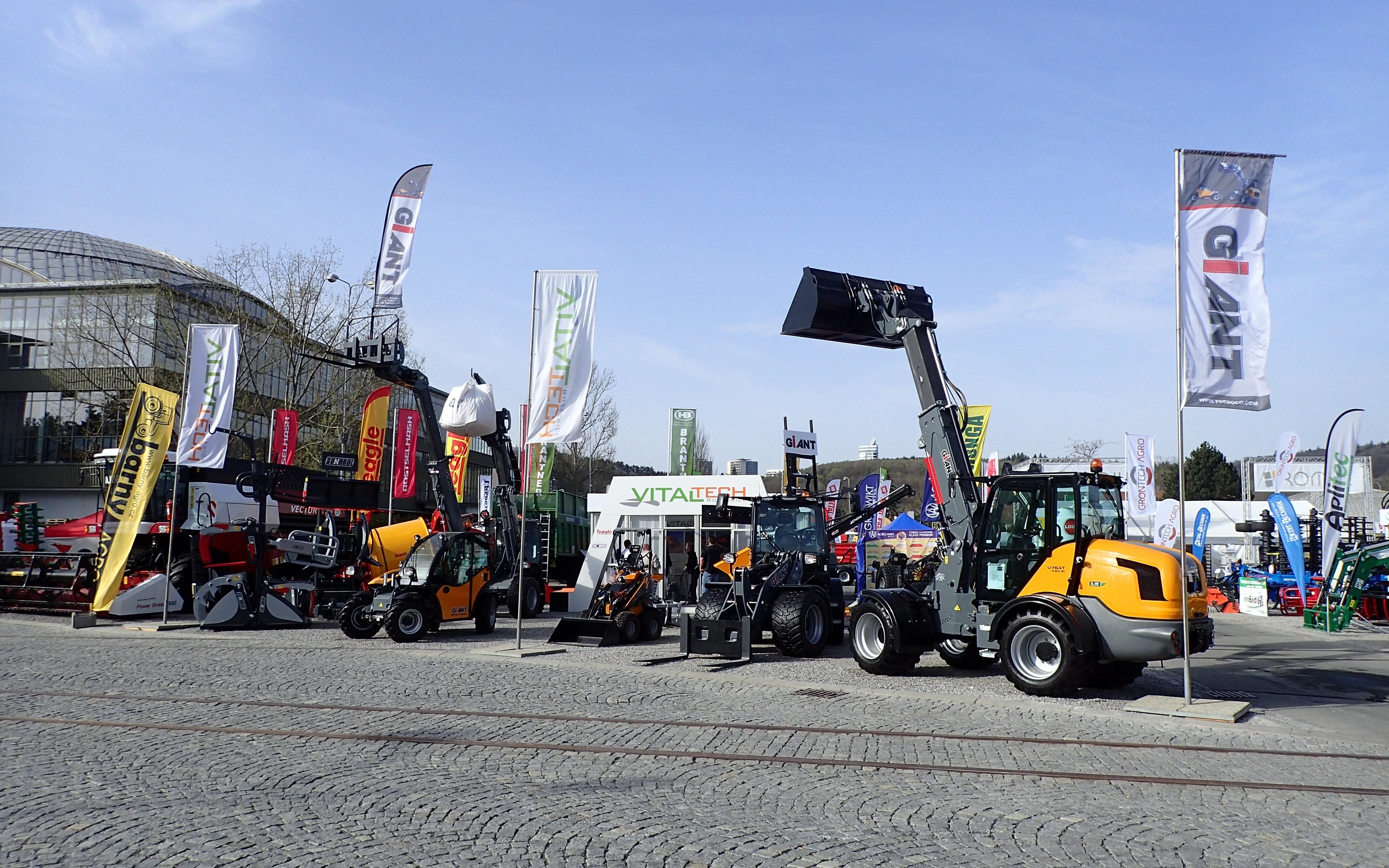 Mezinárodní veletrh zemědělské techniky - TECHAGRO 2018