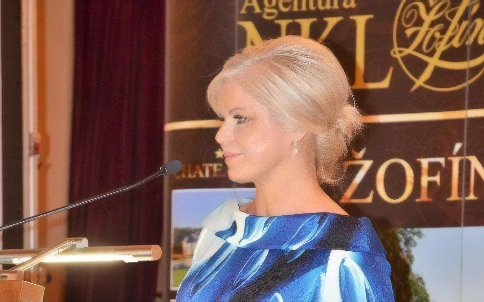 Monika Nebeská hovoří na téma Kvalita potravin v Česku